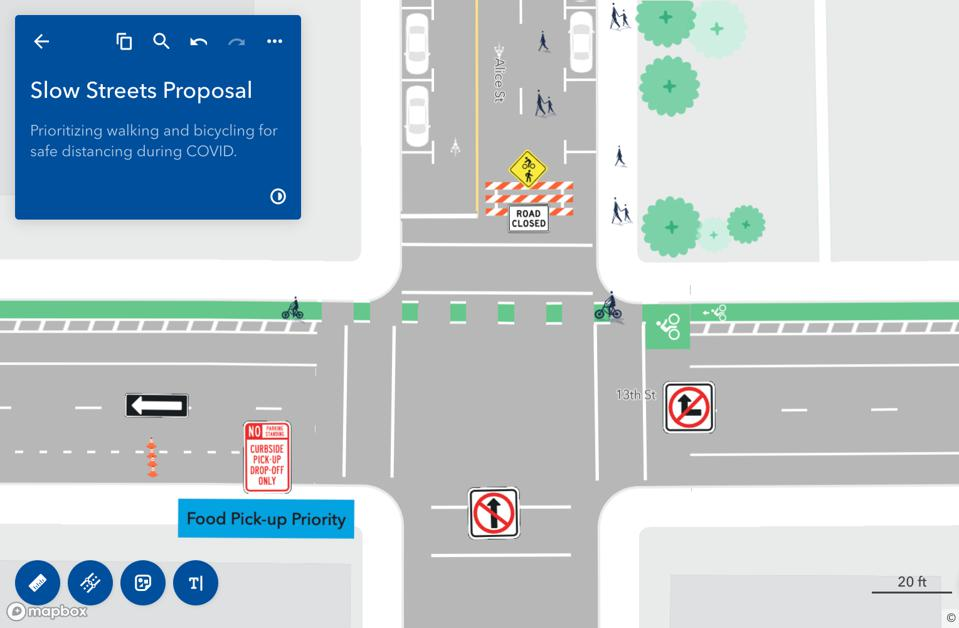 A concept proposal for slow streets