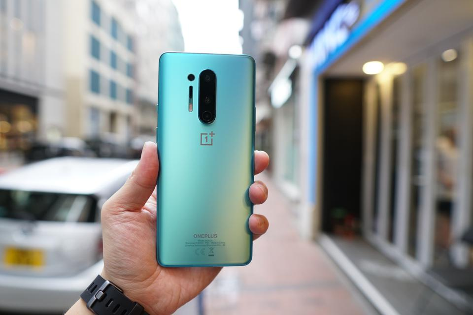 The OnePlus 8 Pro's back looks very similar to the 7 Pro.