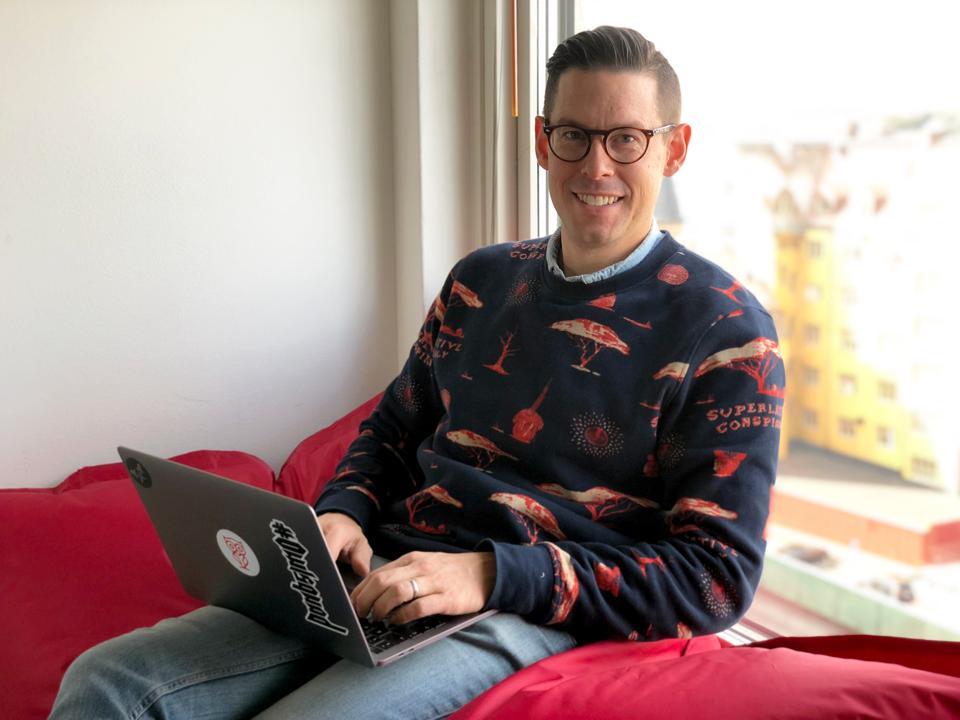 David Brudö in Gothenburg