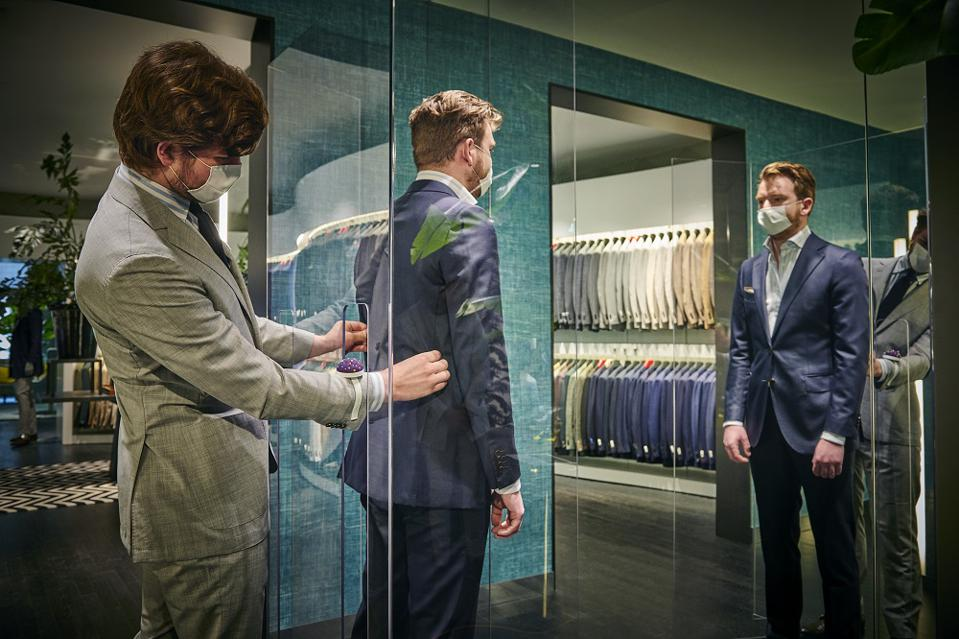 Suitsupply safe shopping screens