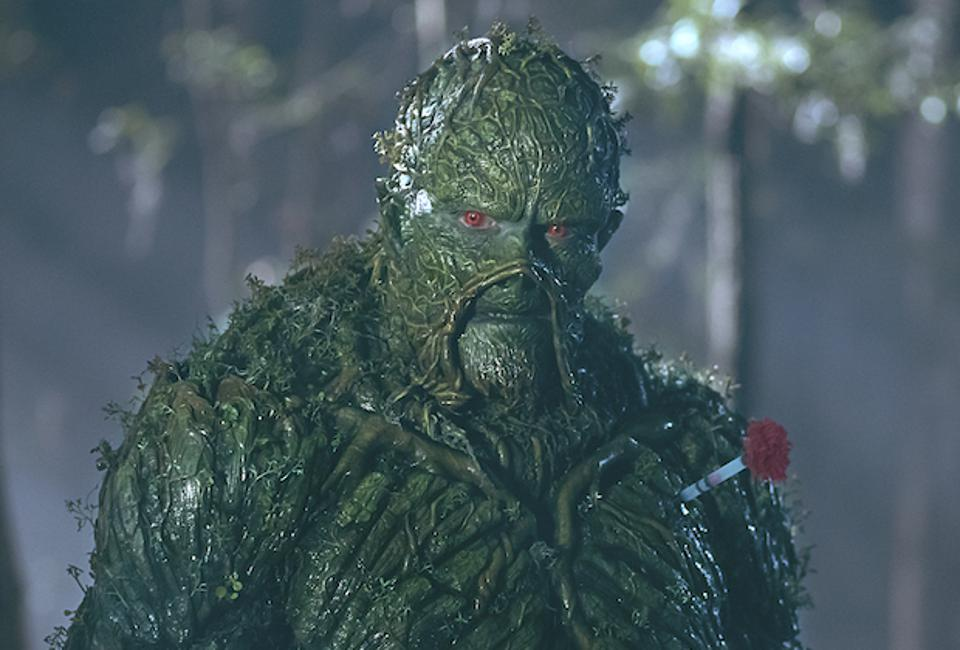 Swamp Thing is a superhero love story with a twist