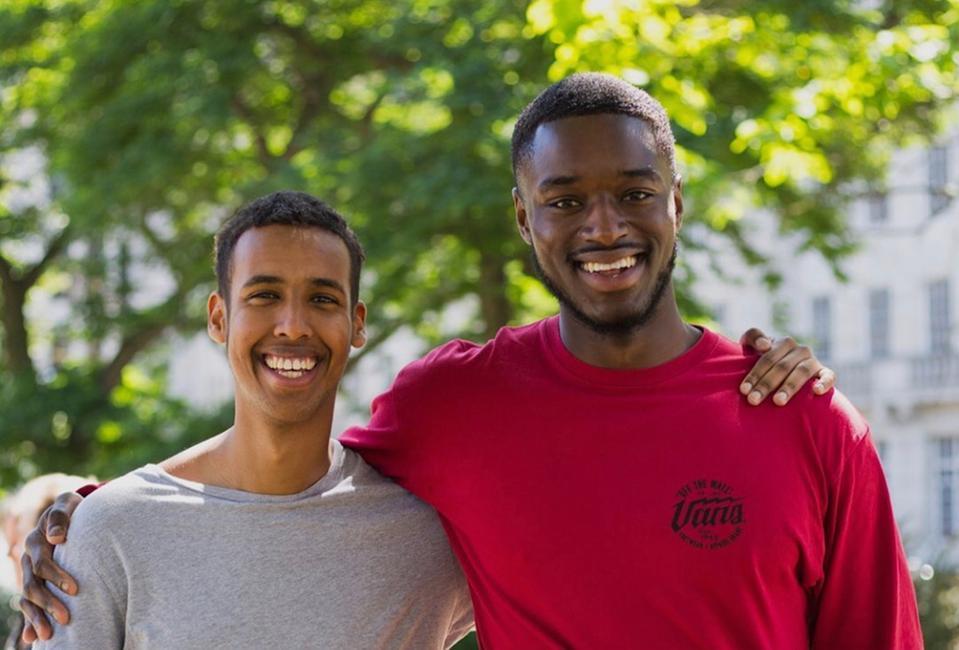 Mustafa Mohamed and Jidé Maduako