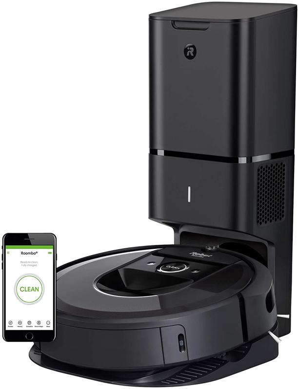 iRobot Roomba i7+ (7550) Robot Vacuum with Automatic Dirt Disposal