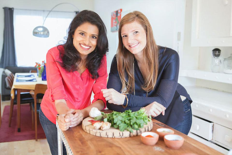 Traveling Spoon co-founders Aashi Vel and Steph Lawrence met at the Haas School of Business