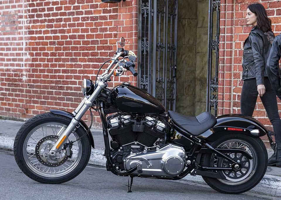 Harley-Davidson Softail Standard cruiser motorcycle