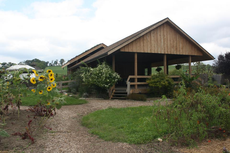 A test garden at The Rodale Institute