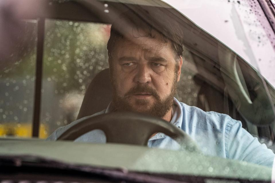 Russell Crowe stars as The Man in 'Unhinged'