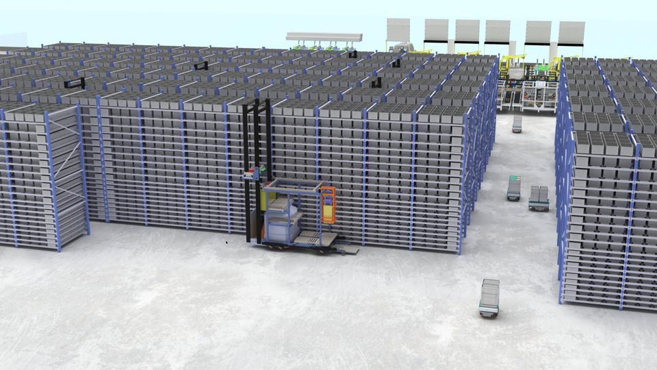 RoboFrame Storage