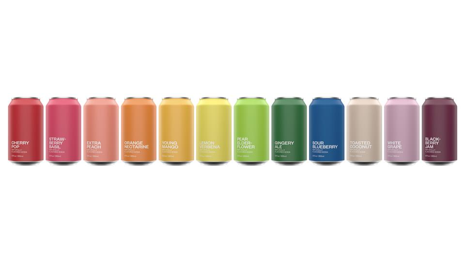 United Sodas of America  is offering 12 different flavors to start