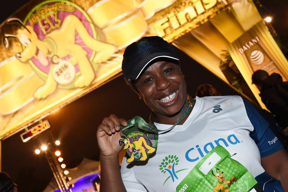 Cigna doesn't just sponsor the Walt Disney World marathon, it also partners with competitors in it (Photo by Amy Sangermano/Disney Parks via Getty Images)