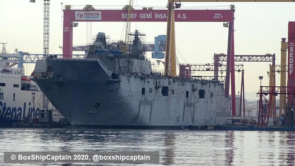 Turkey's New Assault Carrier Will Transform Navy
