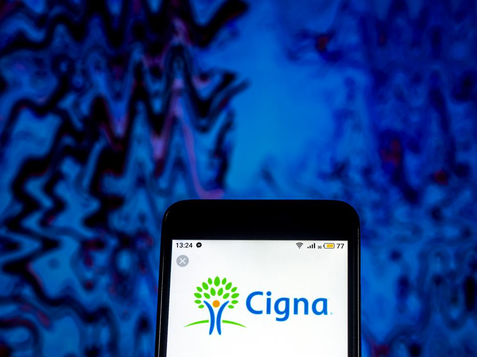Cigna is a giant of health insurance (Photo Illustration by Igor Golovniov/SOPA Images/LightRocket via Getty Images)
