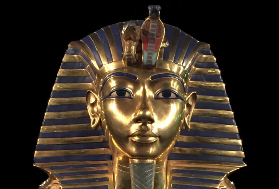 VR Egypt: the famous Tutankhamun mask is one of the things Reality Virtual has re-created in virtual reality.