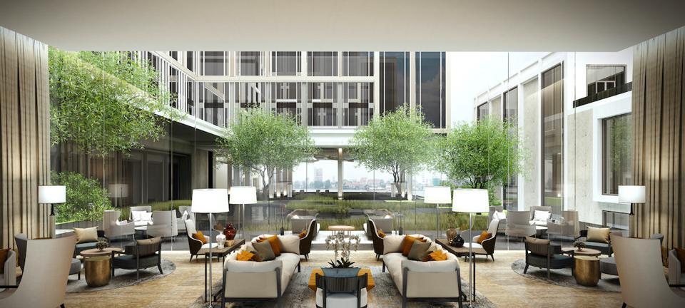 Luxury travel hotel bangkok asia