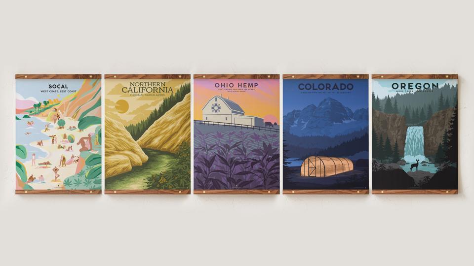 Goldleaf, cannabis travel, cannabis art, luxury cannabis, Charles McElroy, cannabis design
