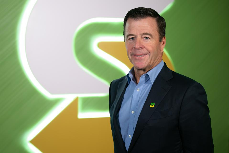 Subway CEO John Chidsey.