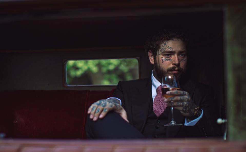Post Malone debuts his new wine, Maison No. 9.