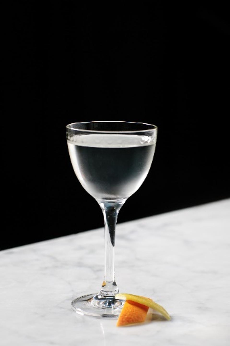 The British Bellringer cocktail at InterContinental London Park Lane.