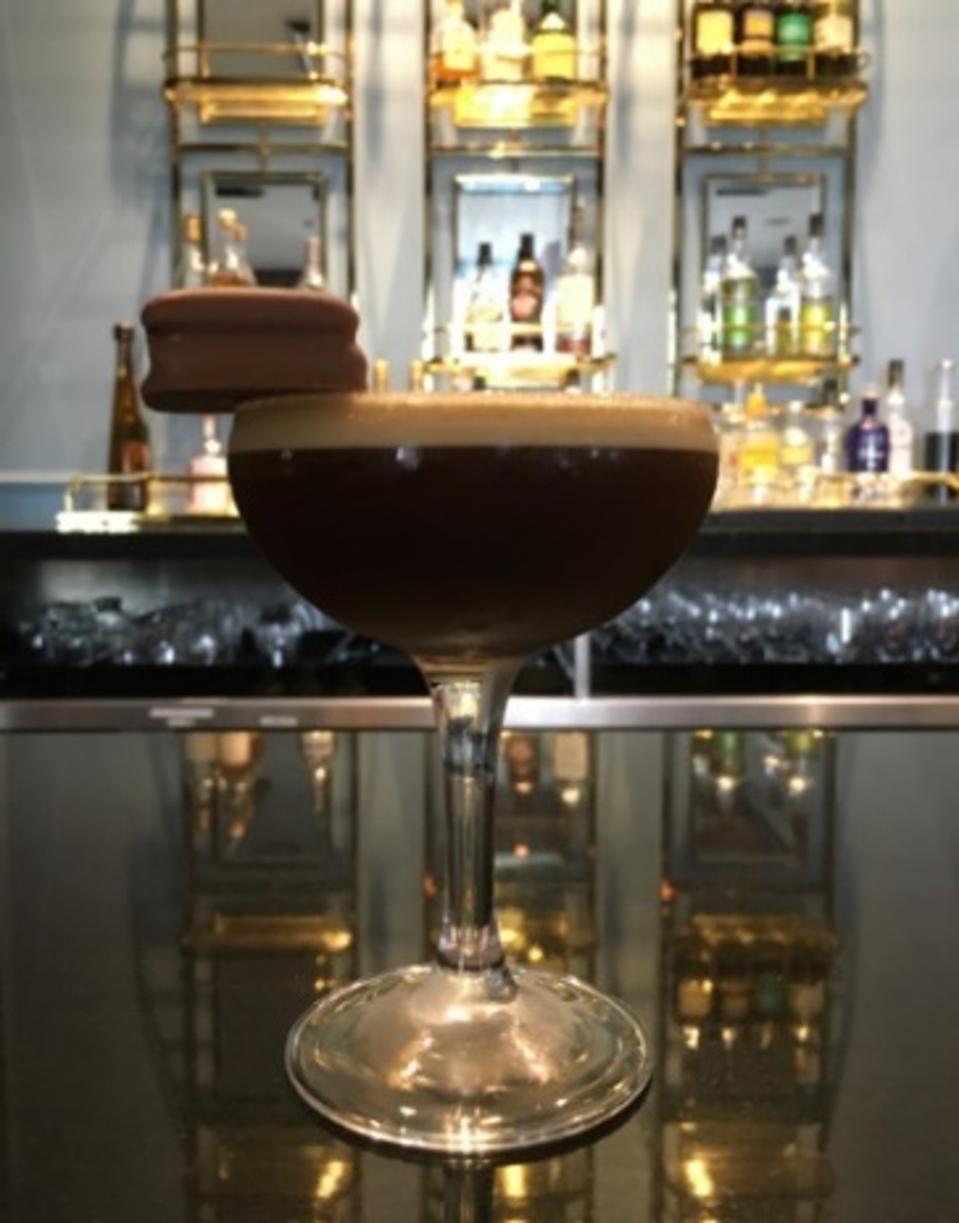 The Australian Tim Tam Espresso Martini at InterContinental Sydney Double Bay.