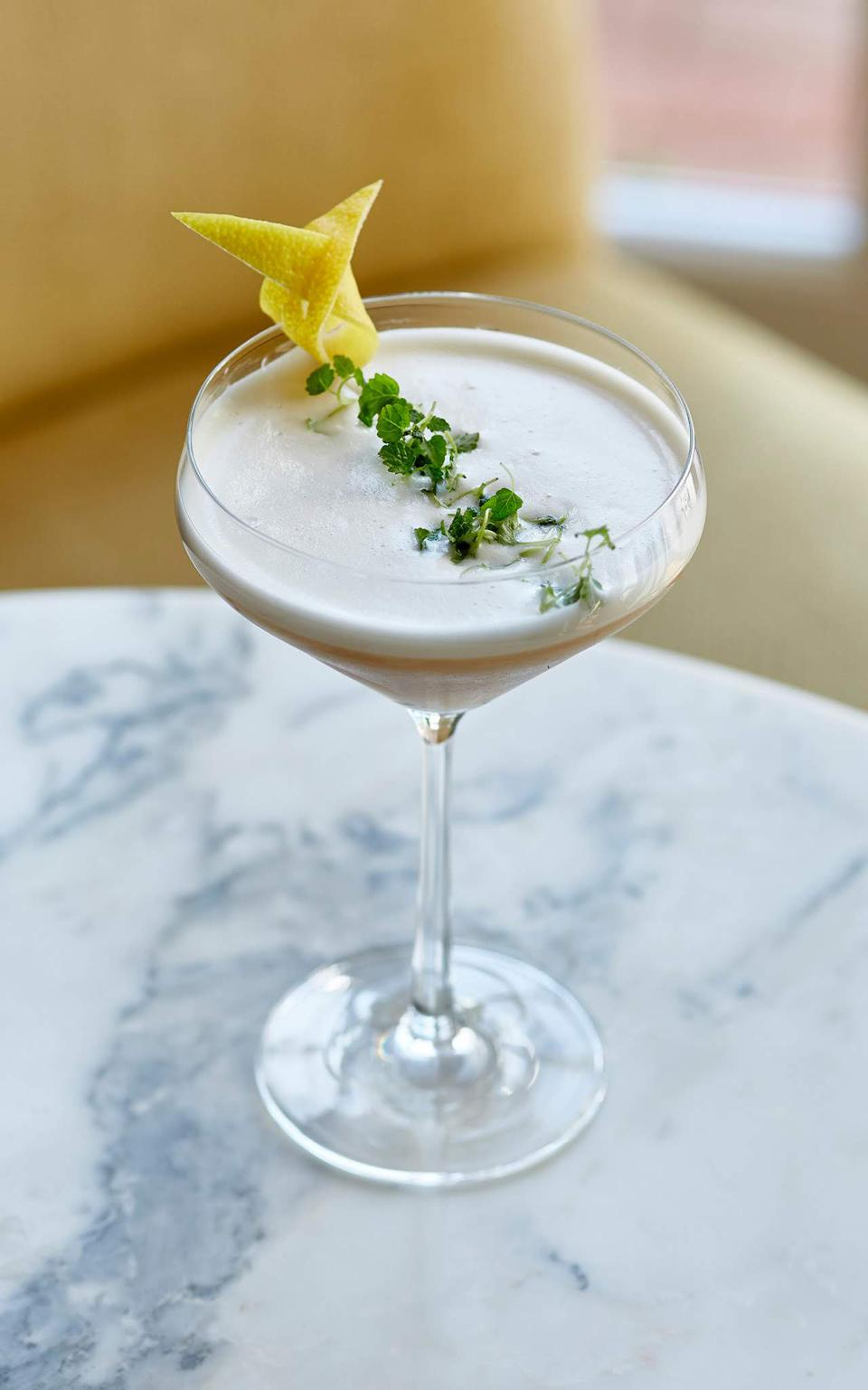 The Wild Carrot Cocktail at Four Seasons Hotel Hampshire.