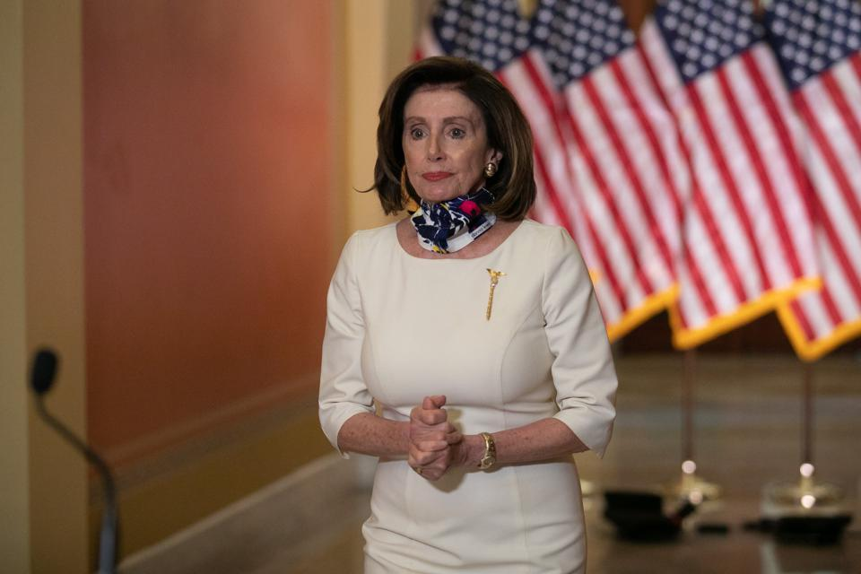 House Speaker Nancy Pelosi Delivers Statement