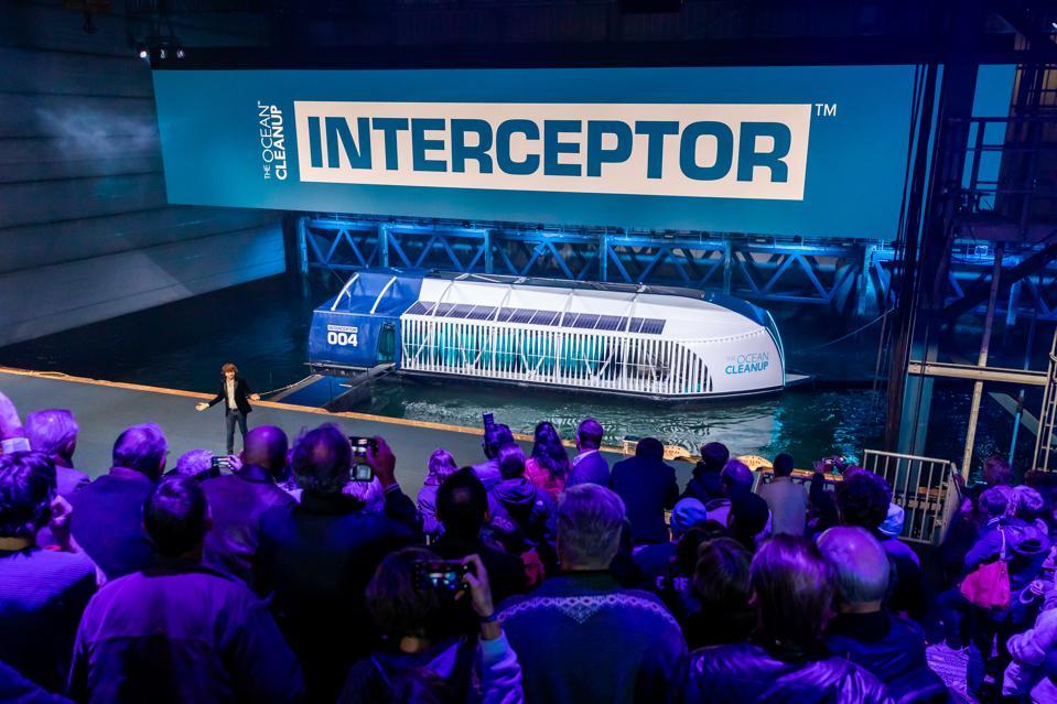The river interceptor boat