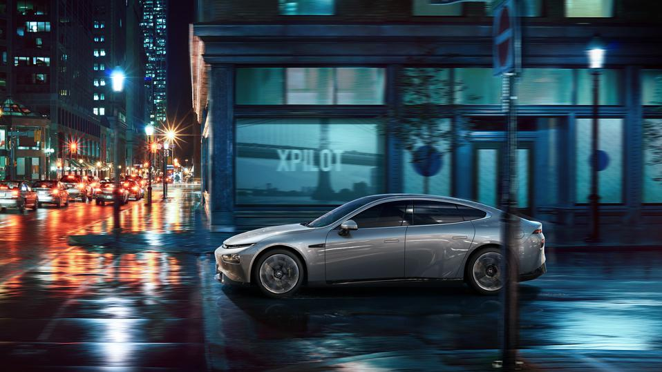 Xpeng P7 electric sedan uses Nvidia Drive Xavier SoC to power its Xpilot 3.0 system