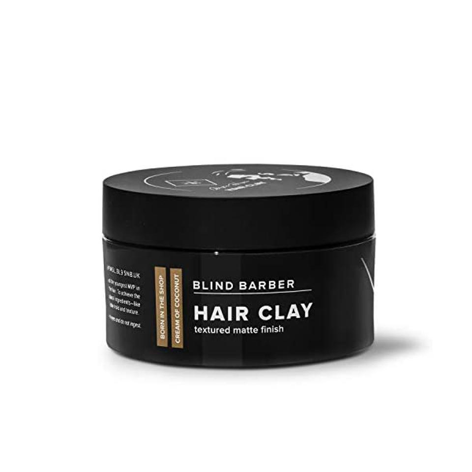 Blind Barber + Bryce Harper Hair Clay - Strong Hold, Matte Finish