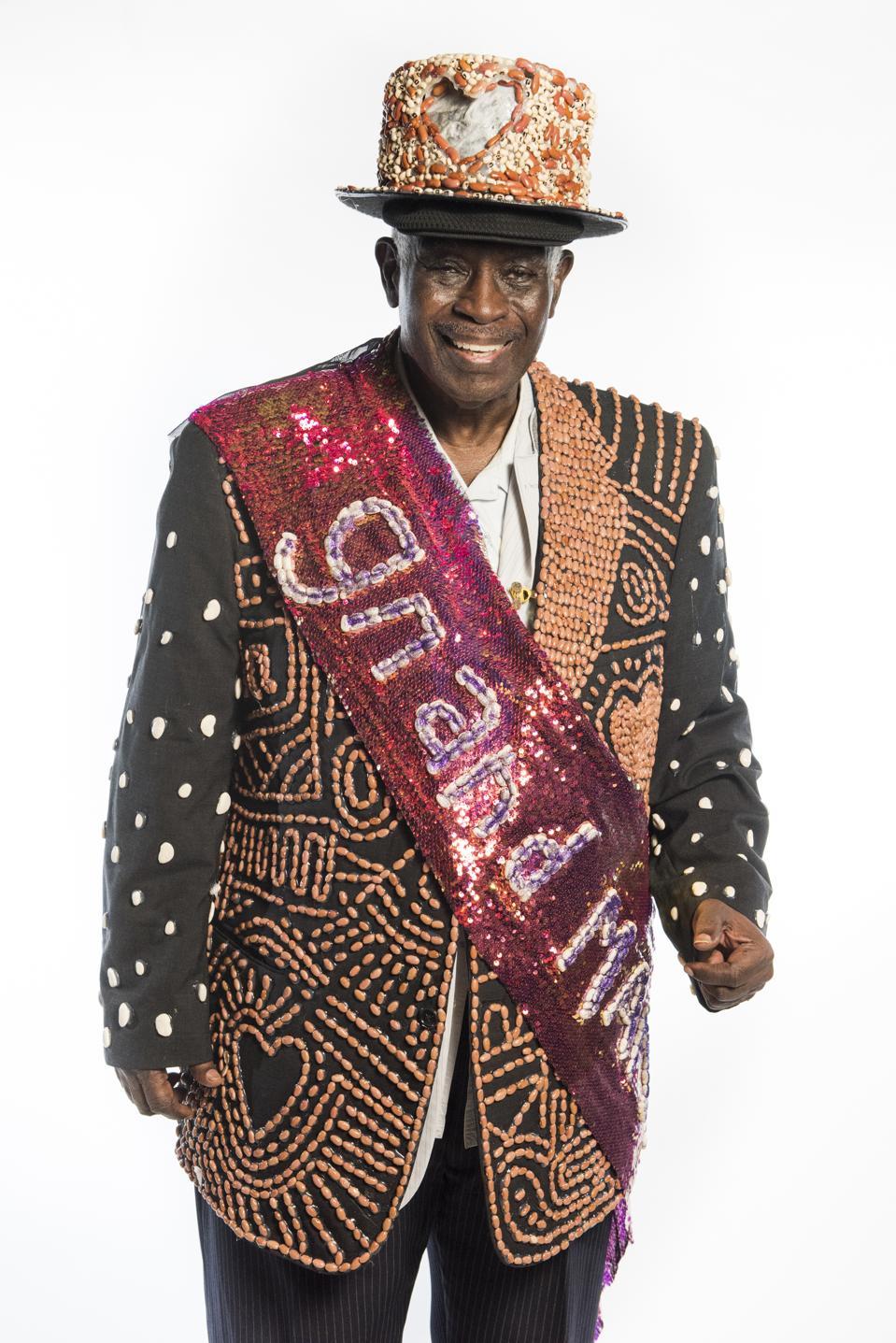 Krewe of Red Beans Grand Marshall,  Al ″Carnival Time″ Johnson