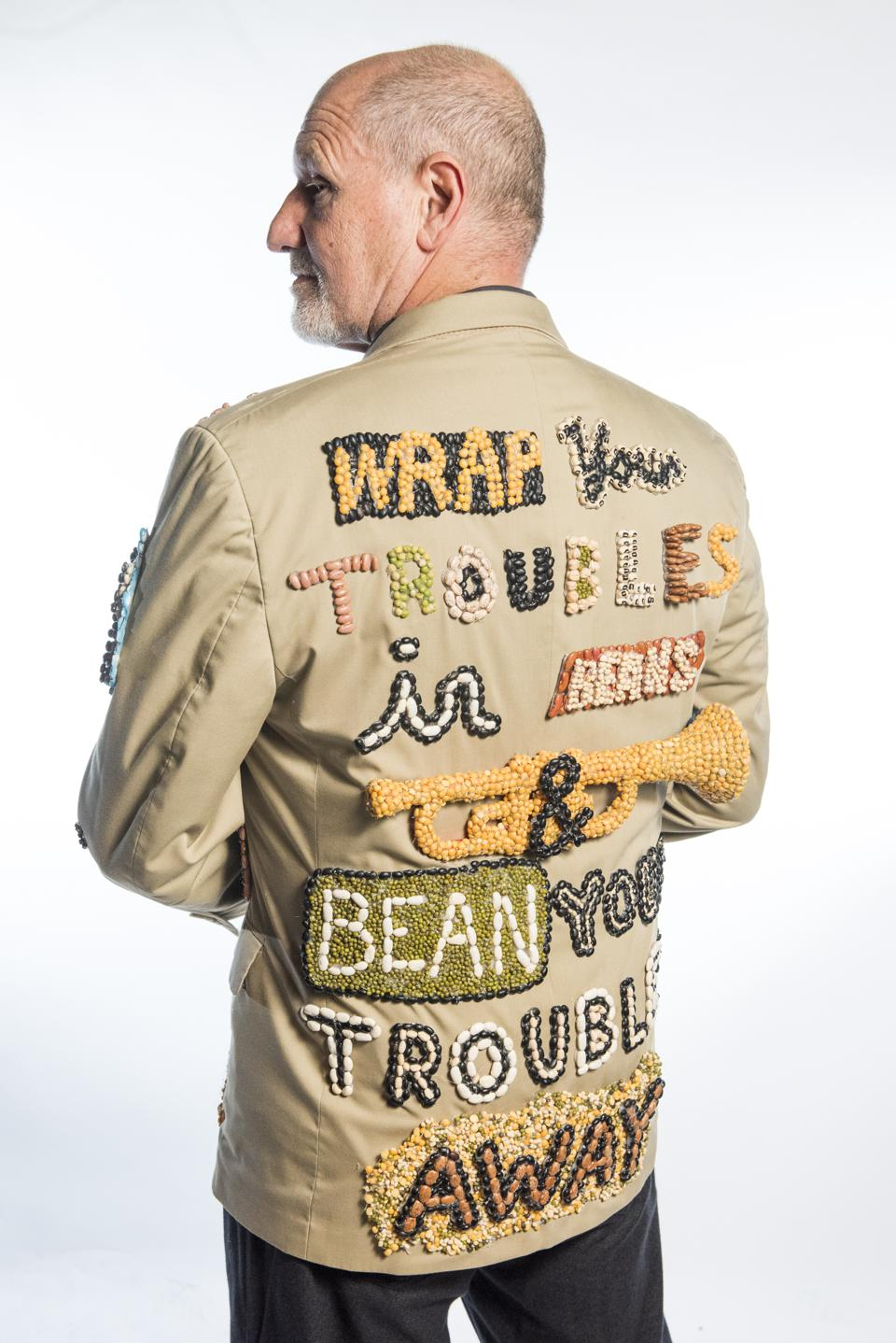 Howard Turoff, a member of the Krewe of Red Beans