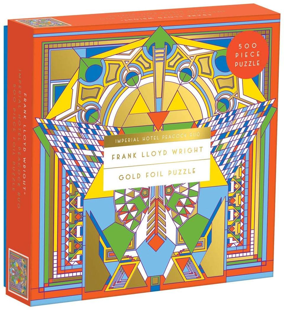 500 Piece Puzzle for Adults and Families, Frank Lloyd Wright Art Puzzle