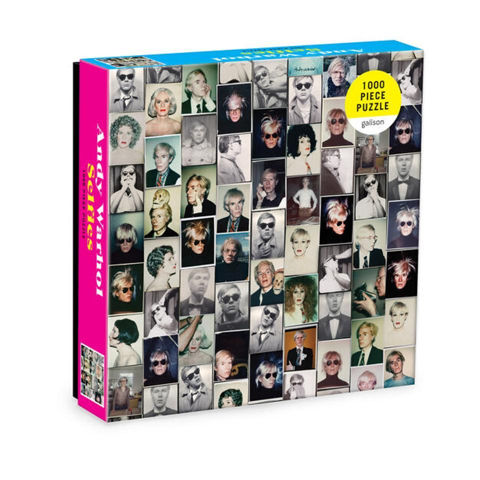 Andy Warhol Selfies Jigsaw Puzzle