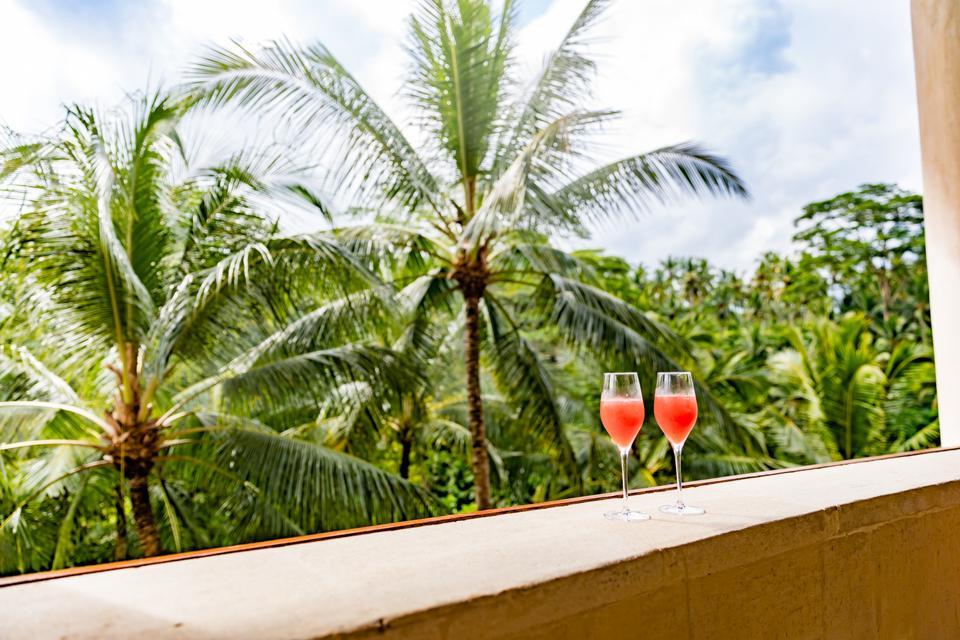 Bali, Indonesia - Welcome drinks the Four Seasons Sayan