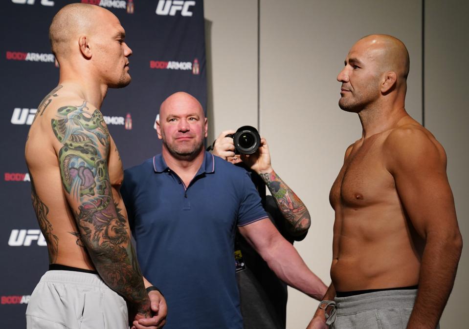 UFC Fight Night Smith v Teixeira:  Weigh-Ins