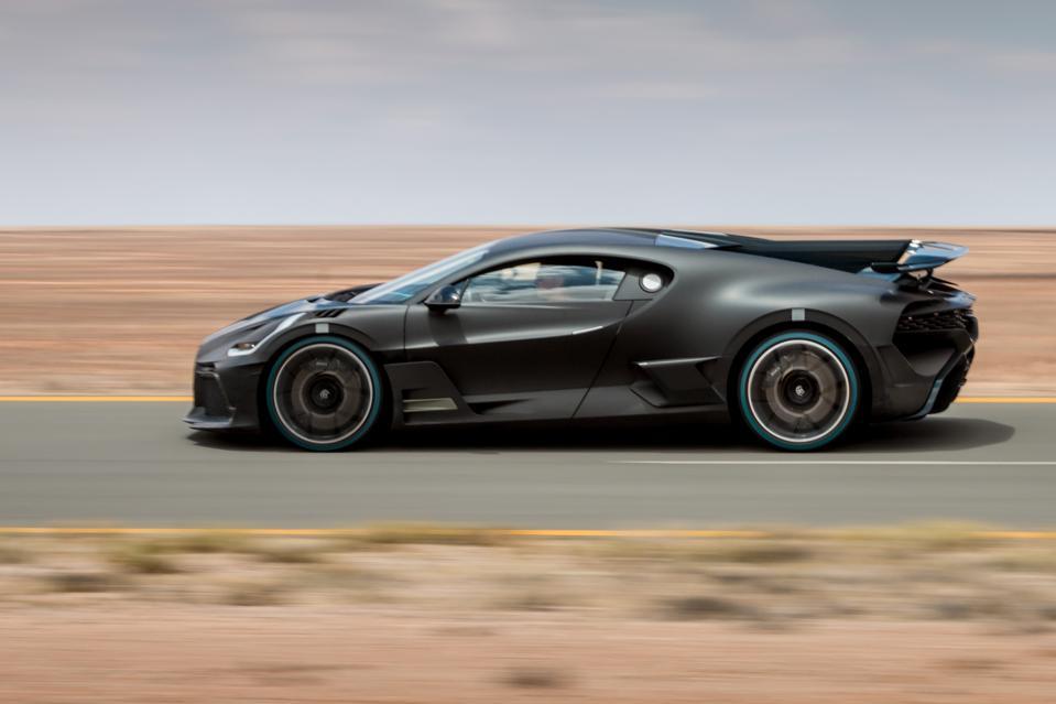 Bugatti Divo Supercar.