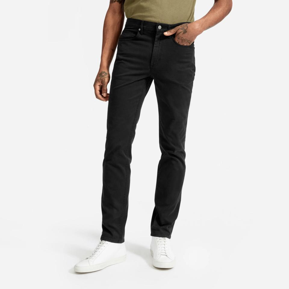 The Midweight Twill 5-Pocket Slim Pant