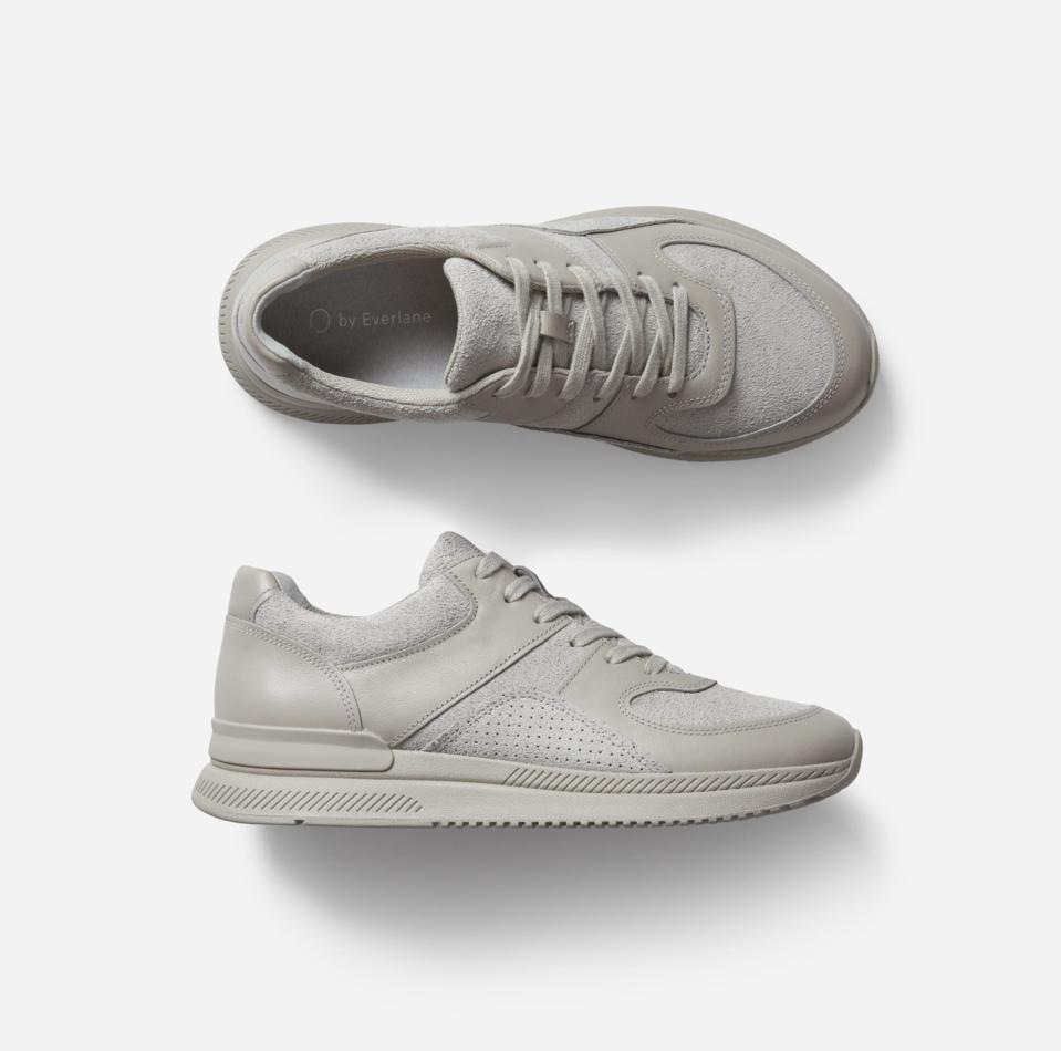 Mens grey trainers