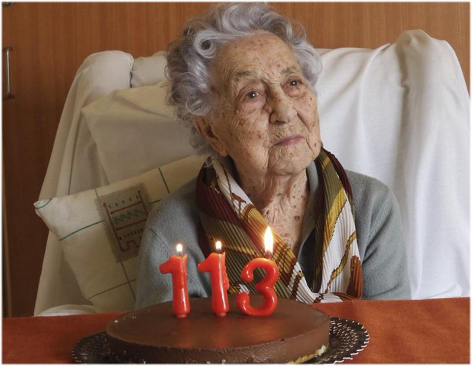 Maria Branyas celebrated her 113th birthday in March.