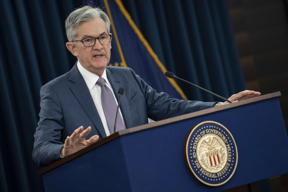 bitcoin, crypto, Facebook, libra, digital dollar, Federal Reserve, Fed, Jerome Powell, image