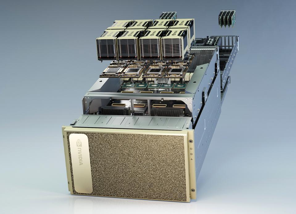 NVIDIA DGX A100 Supercomputer.