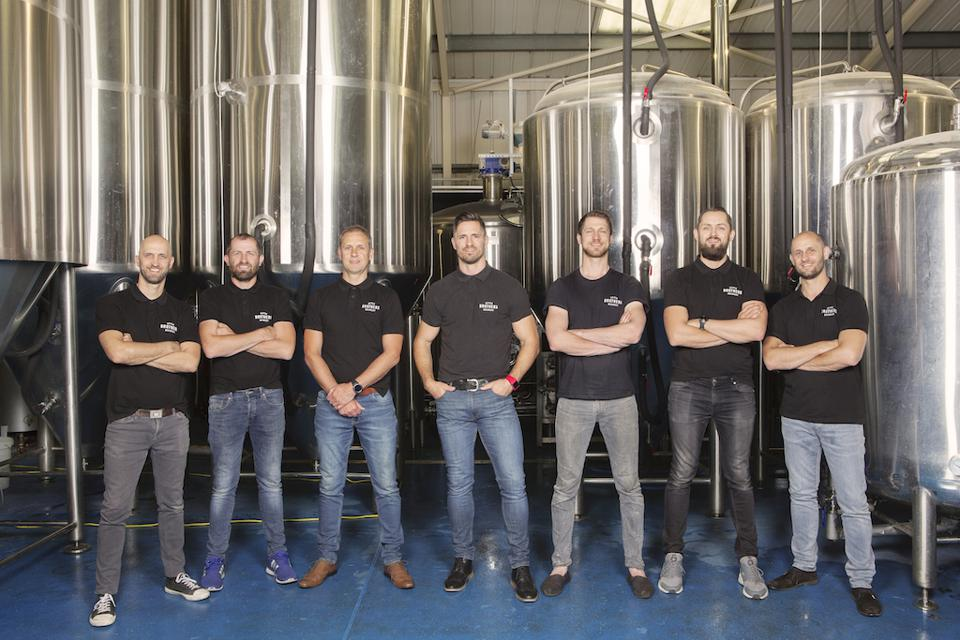 The seven McAvoy brothers behind the SEVEN BRO7HERS Brewing Co