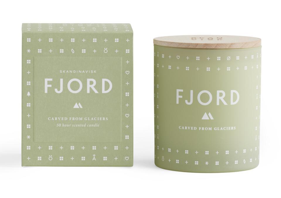Skandinavisk FJORD luxury candle delirium