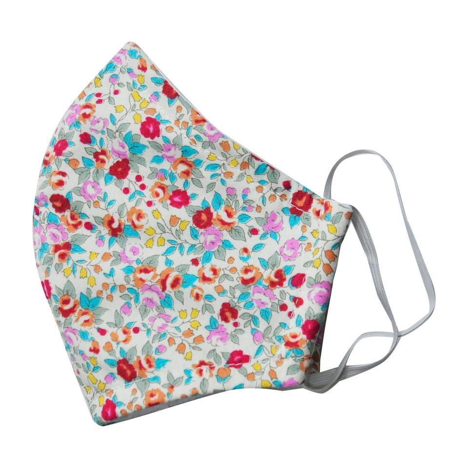 Maisonette floral face mask for kids
