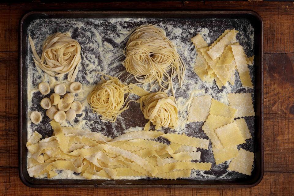 Pasta Shapes Image