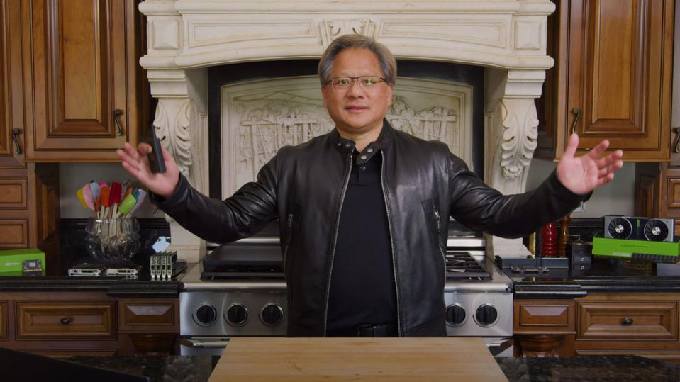 NVIDIA CEO Jensen Huang invited 100,000 GTC 2020 attendees into his kitchen