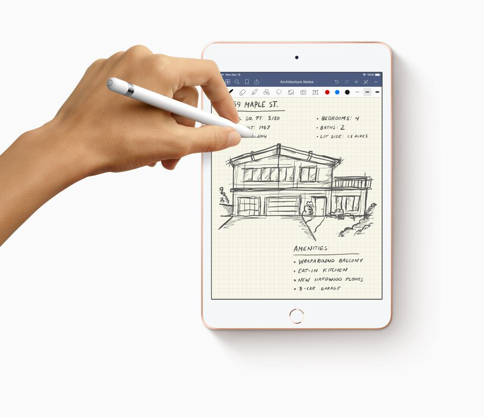 The latest iPad mini, released in Spring 2019