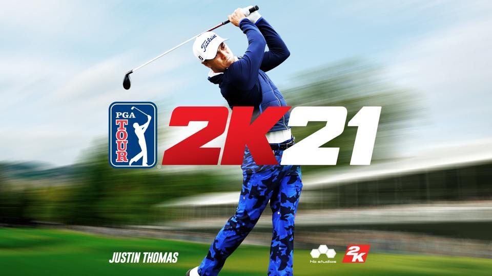 Justin Thomas is the new PGA Tour 2K21 cover athlete