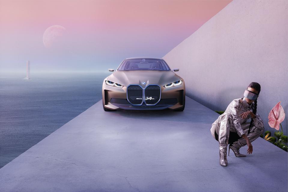 Photographer Clemens Ascher presents BMW Concept i4 in an artistic light