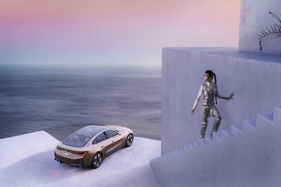 Clemens Ascher photographs the BMW i4 Concept