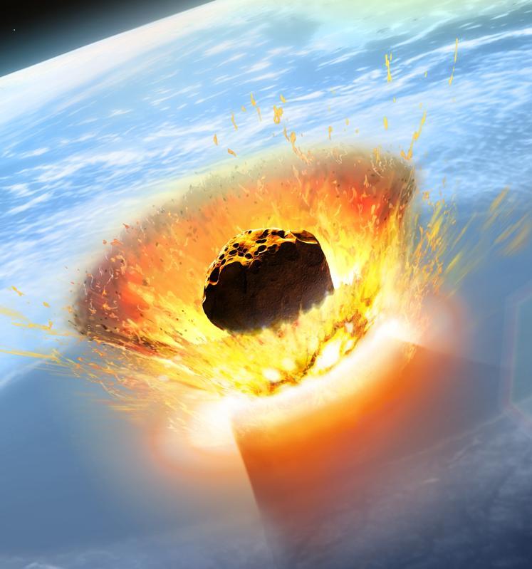 Impacto de asteróide Chicxulub